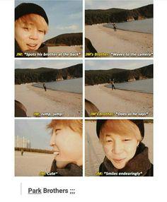 I really want to see Jihyun. :3 I hope Jimin would take a selca with him someday~
