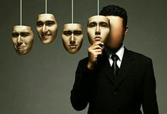 Hidden identity Each day wearing a new face to fit in into society's expectations  An unexpected change of new facial expressions/emotions.