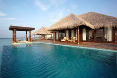 Staying at Anantara Kihavah Villas Maldives: Infinity Pool In Anantara Kihavah Villas