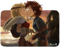 Astrid And Hiccup Belong to Dreamworks© Art belongs to*´¨) &nb. Hiccup and Astrid - New suits Dreamworks Dragons, Dreamworks Animation, Disney And Dreamworks, Httyd, How To Train Dragon, How To Train Your, Hicks Und Astrid, Happy Birthday Babe, Beautiful Dragon