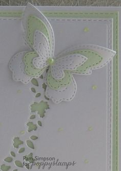 Stitched Butterfly Trio.