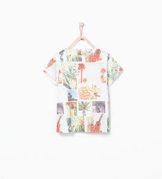 Tropical T - shirt - T - shirts - Boy   4 - 14 years - KIDS - SALE   ZARA United States