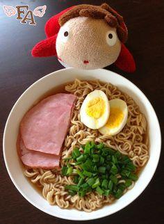 "Food Adventures (in fiction!): Ramen Soup w/ Ham from ""Ponyo"""