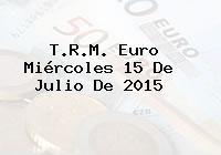 http://tecnoautos.com/wp-content/uploads/imagenes/trm-euro/thumbs/trm-euro-20150715.jpg TRM Euro Colombia, Miércoles 15 de Julio de 2015 - http://tecnoautos.com/actualidad/finanzas/trm-euro-hoy/trm-euro-colombia-miercoles-15-de-julio-de-2015/