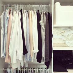 """Finally getting around to organising my wardrobe! """