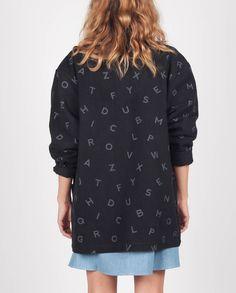 Dunsen Dunsen - Alphabet Jacket