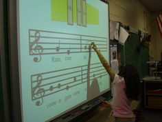 SMART Board in the music classroom  #WestMusic #InspireMyClass