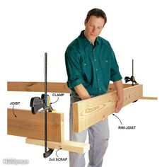 Extra hand. Use a clamp and extra board to hold boards