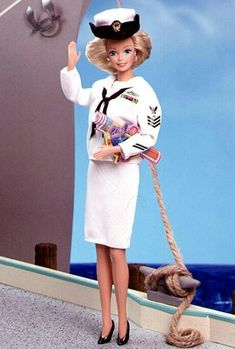 £: Barbie navy