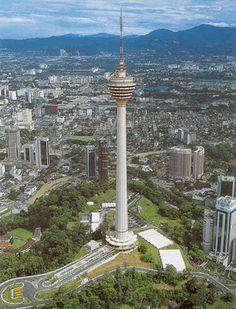 KL Tower... Some of the best food I've eaten was at this restaurant! But for Malaysian Cuisine... It was the most expensive!