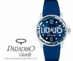 Liu Jo #Luxury Dancing #orologio #donna blu dotato di #cristalli mobili!!! #Raffinatezza e #Design per un #brand made in #Italy che coniuga #moda e #gioiello!!!