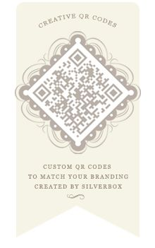 I'm sick, sick SICK of ugly QR codes taking up precious space on my pack designs! This pretty one gives me hope.