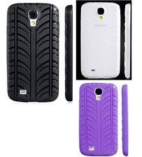Samsung Galaxy S4 / I9500 Rubber Protective Case Tire Tread Design Unique New