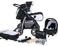 Junior pram pushchair stroller buggy  3 in1  from Baby-Merc + car seat included!