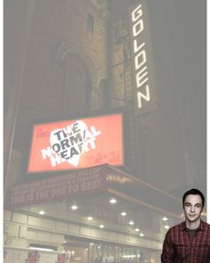 I did a collage of Jim and the Golden Theatre when he was on Broadway.