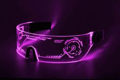 Shop the perfect Cyberpunk LED Tron Visor Glasses which suits cosplay/cybergoth look. The glasses have a high powered dual-LED with laser edge across the front.