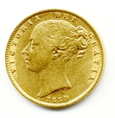 Rare 1859 QUEEN VICTORIA GOLD FULL SOVEREIGN COIN, Gold Sovereigns, Half Sovereigns, Gold Coins For Sale in London, Quality Gold Coins, 1stsovereign.co.uk