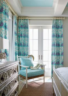 Quadrille Kazak drapery fabric
