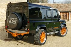 Land Rover Defender Icon 5.0 V8 RS Edition http://www.defendericon.com/land-rover-defender-sale/250/land-rover-defender-icon-50-v8-rs-edition/