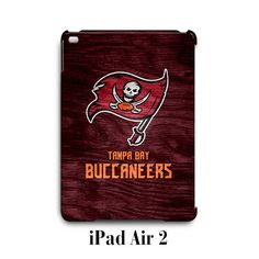 Tampa Bay Buccaneers Custom iPad Air 2 Case Cover Wrap Around