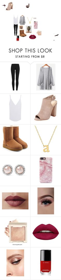 """""""Fall"""" by fashion101-277 on Polyvore featuring Polo Ralph Lauren, Sincerely, Jules, Schutz, UGG, Jane Basch, Miu Miu, Huda Beauty and Chanel"""