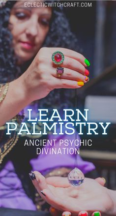 Learn palmistry, and ancient form of psychic divination. Chiromancy tips and tricks for witches and paganism. #witch #witchcraft #pagan #wicca
