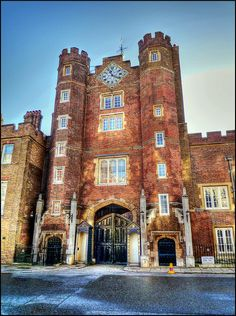 St James's Palace, London, England by Rich J Lewis, via Flickr