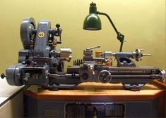 Superbly restored and near-perfectly original 1952 Myford ML7 metal lathe.