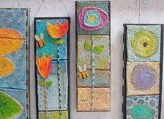 Phyllis Vaughn creates original, whimsical handmade art for the heart and home. Childrens Artwork, School Art Projects, Air Dry Clay, Clay Art, Handmade Art, Wood Art, Fabric Crafts, Creative Art, Flower Art