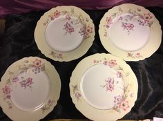 Antique Paul Muller Selb Bavaria Dinner Plate Set of (4) Belmont S21  | eBay