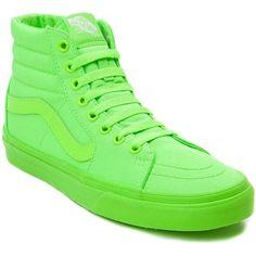 Vans Sk8 Hi Skate Shoe ($99) ❤ liked on Polyvore featuring shoes, sneakers, vans shoes, vans sneakers, leather high top sneakers, leather shoes and grip trainer