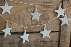 French & Sparrow: CLAY GARLANDS