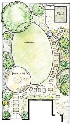 6 Clever Cool Tricks: Diy Backyard Garden Posts backyard garden flowers how to build.Backyard Garden Layout Decks backyard garden flowers how to build.Backyard Garden Flowers How To Build. Garden Design Plans, Landscape Design Plans, Small Garden Design, Yard Design, Small Garden Plans, Back Garden Ideas, Rectangle Garden Design, Small Garden Layout, Design Cour