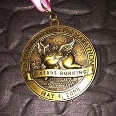 Cincinnati Flying Pig Marathon  5/4/09