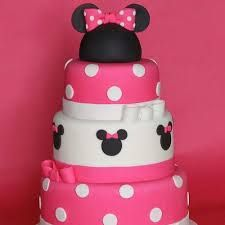 Minnie Mouse Birthday Cake: Order a one-of-a-kind Minnie masterpiece for your lil& birthday to serve as the centerpiece for your dessert table. This Minnie Mouse birthday cake looks too cute to eat!Source: The Cookie Shop Bolo Da Minnie Mouse, Minnie Mouse Birthday Cakes, Minnie Mouse Theme, Minnie Mouse Cake, Pink Minnie, Mickey Mouse, Birthday Cupcakes, First Birthday Parties, First Birthdays