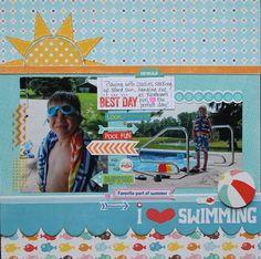 I 3 Swimming - Scrapbook.com