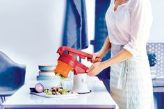 Dice your favorite veggies without a knife! Our Chef Press Dicer gets the job done efficiently and effortlessly!