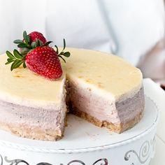 Yo es que me vuelo por una tarta como esta! Y que entra sola...¿quien quiere un trocito?  la receta aquí >>https://goo.gl/3YkIGP