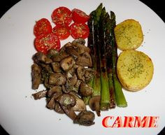 Entrante vegetariano