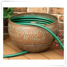 Lovely CobraCo® Copper Hose Holder   DO NOT USE   The CobraCo® Copper Hose Holder  Is A Brilliant And Simple Solution For Obscuring And Organizing Your Garden  Hose.