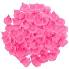 1000Pcs Silk Rose Celebration Artificial Petals Flower Confetti Engagement Wedding Decoration