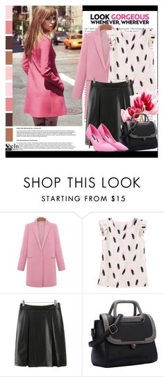 """""""SheIn #8 (IV)"""" by cherry-bh ❤ liked on Polyvore featuring women's clothing, women, female, woman, misses, juniors and shein"""