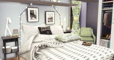 Pastel Bedroom   Sims4Luxury
