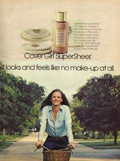Cover Girl Makeup, Girls Makeup, Makeup Ads, Seventeen Magazine, Covergirl, 1970s, Vintage, Cover Girl, Vintage Comics