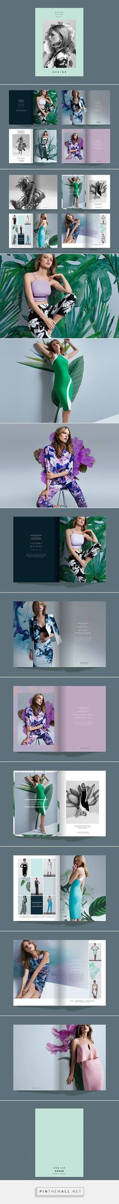Lookbook Layouts, Brochures and Template - fashion design brochure template