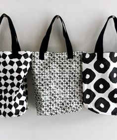 Color Negro y Blanco - Black & White!!!  bags