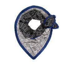 Pom Amsterdam sjaal met diamanten print