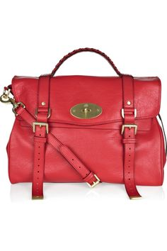 Mulberry Oversized Alexa Leather Bag $1250   yes yes i know the green is there too...   mmmmm