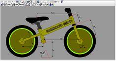 Risultati immagini per wooden balance bike plans