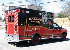 Rockland Fire/EMS, Rockland, ME - Rescue 1 - 2006 Ford F-350/AEV 4x4 #setcom…